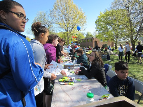 Checkpoint for May 5 Walk for Hunger