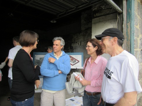 DCR's Patrice Kish, and neighbors Eric and Lauren Spengler and Marty Blatt discuss the possibilities for the space.