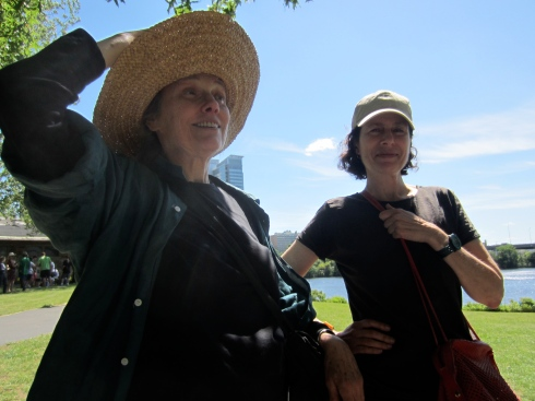 Researchers and writers Marilyn Wellons and Nina Cohen debuted their History on the Charles.