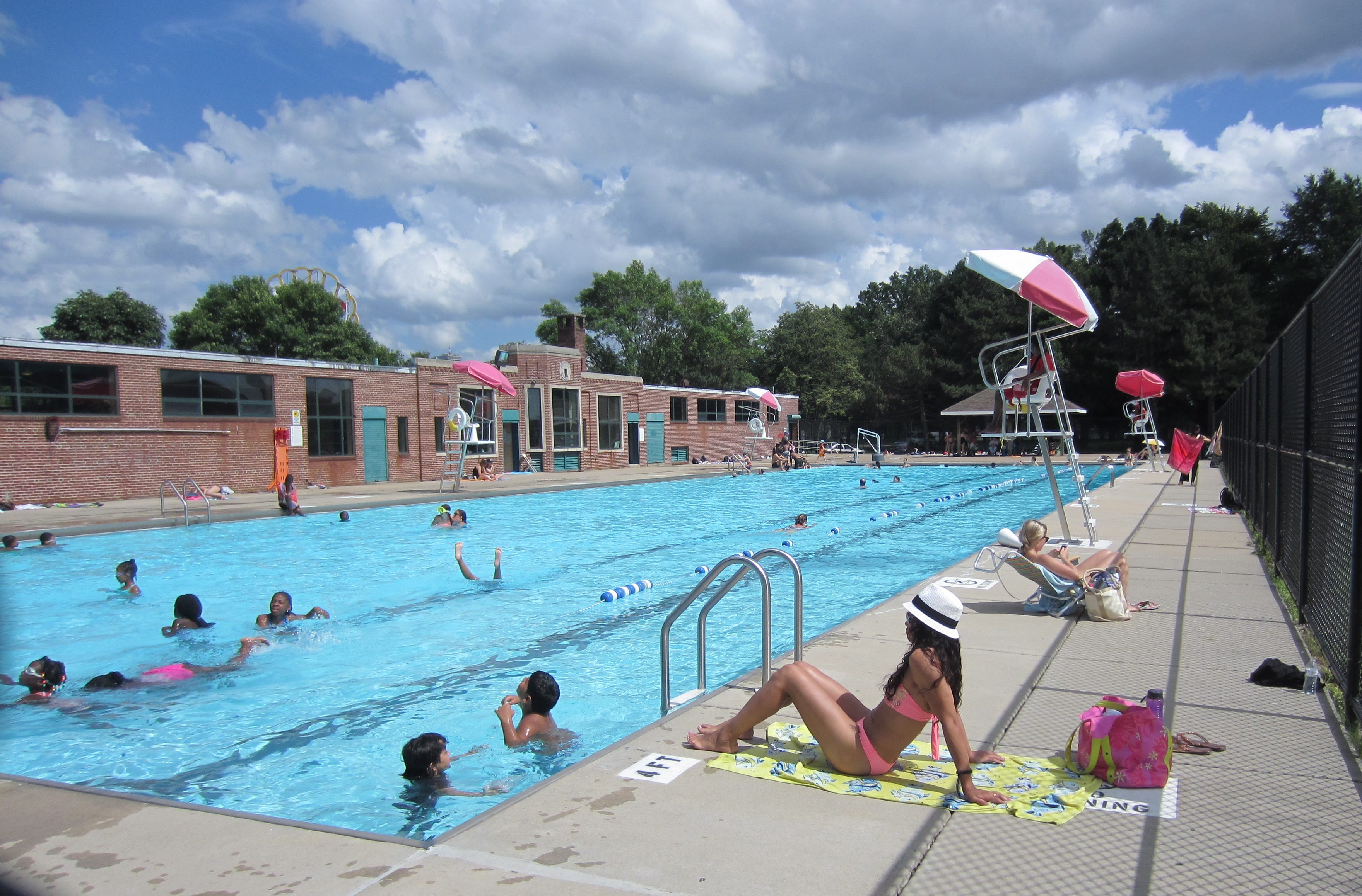 The pool s open swimming lessons start july 8 other for Good swimming pools