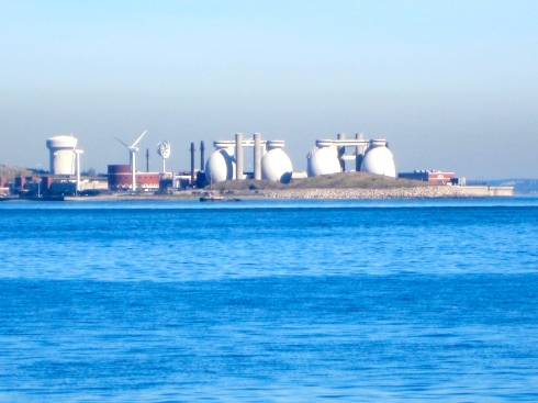 Our next visit: Deer Isle  Wastewater Treatment Plant--where our sewage goes!