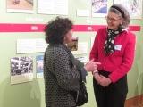 Martha Birnbam and the CRC's Renata von Tscharner