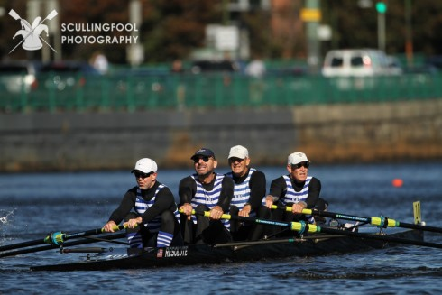 Men's Grand Masters 4+, perennial winners at HOCR