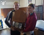 Mike Farry and Ilana Zieff won the singles at the 2016 Crusher Casey Challenge.