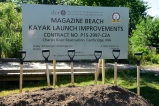 Ground Breaking for Canoe/Kayak Launch & Outlook at Magazine Bea