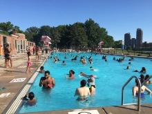 The pool is open until August 22.