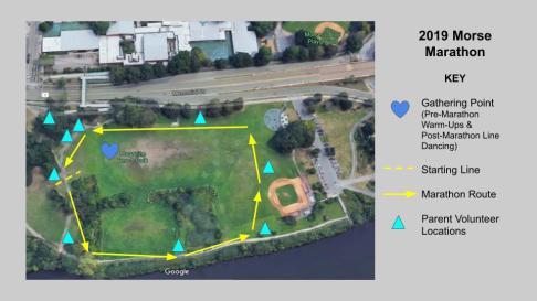 Morse Marathon Route Map