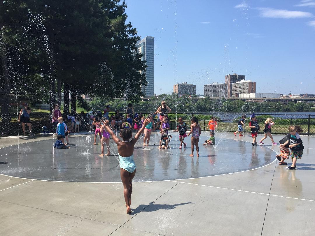 The Pool and Spray Deck are Open! | Magazine Beach
